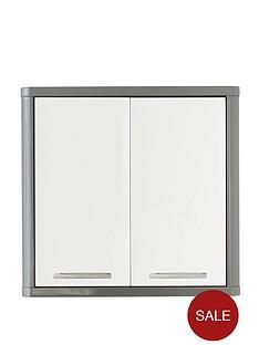 lloyd-pascal-luna-hi-gloss-2-door-mirrored-bathroom-cabinet-grey