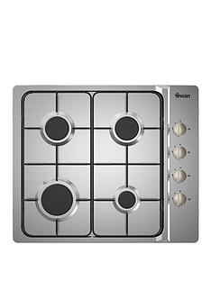 swan-sxb7030ss-60cm-built-in-gas-hob-with-fsdnbsp-nbspstainless-steel