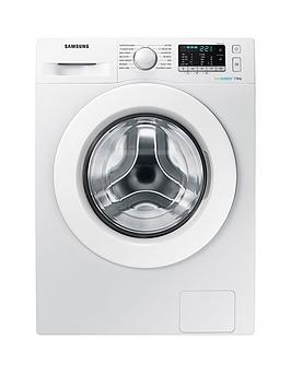 Samsung Ww70J5355MwEu 7Kg Load 1200 Spin Washing Machine With Ecobubble&Trade Technology  White