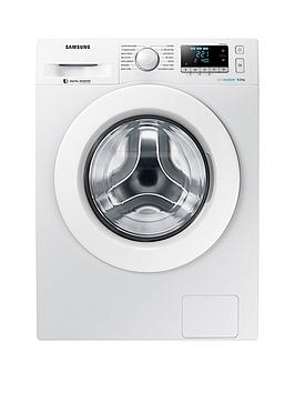 Samsung Samsung Ww90J5456Mw/Eu 9Kg Load, 1400 Spin Washing Machine With  ... Picture