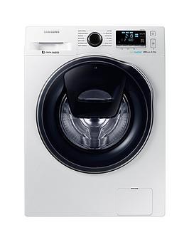 samsung-ww90k6610qweu-9kgnbspload-1600-spin-addwashnbspwashing-machine-with-ecobubbletradenbsp-technology-and-5-year-samsung-parts-and-labour-warranty-white