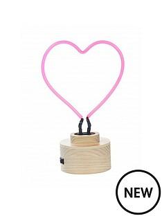 heart-neonnbsptable-lamp
