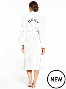 dkny-long-length-signature-robe