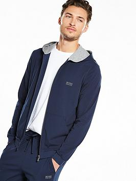 hugo-boss-lightweight-hooded-zip-loungenbsptop