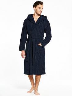 hugo-boss-logo-hooded-gown