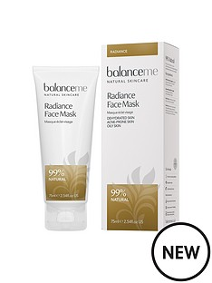 balance-me-radiance-face-mask-75mlnbspamp-free-pure-skin-face-wash-125ml