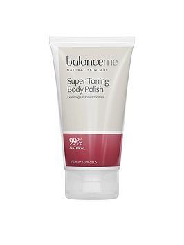 Balance Me Super Toning Body Polish 150Ml