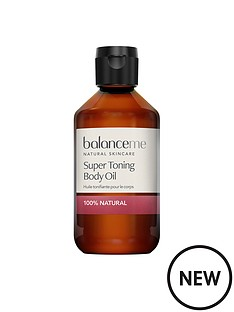 balance-me-super-toning-body-oil-280mlnbspamp-free-pure-skin-face-wash-125ml