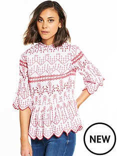 river-island-river-island-embroidered-smock-top