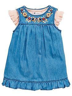 mini-v-by-very-baby-girls-denim-dress-andnbsppointelle-bodysuit-set-2-piece