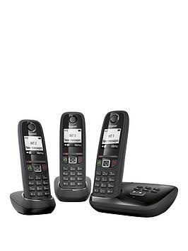 Gigaset Gigaset As405A Trio Cordless Phone  Black