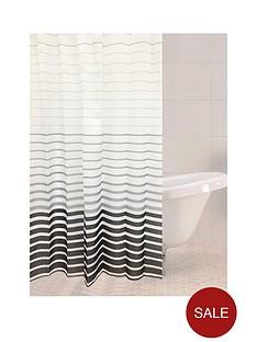 sabichi-smoke-stripe-shower-curtain