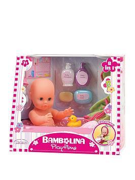 bambolina-33cm-bambolina-playtime-bath-baby-doll-set