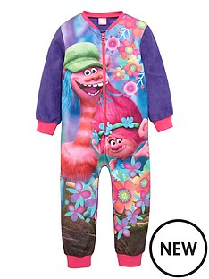 dreamworks-trolls-girls-fleece-sleepsuit
