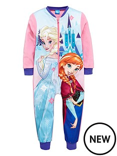 disney-frozen-frozen-aop-girls-fleece-sleepsuit