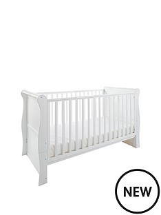 little-acorns-sleigh-cot-bed-white