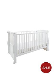 little-acorns-sleigh-cot-bed-white