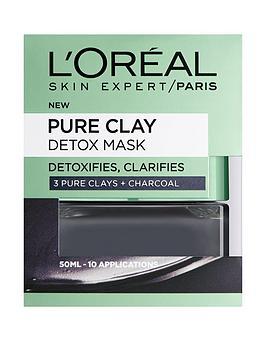 L'Oreal Paris L'Oreal Paris Pure Clay Detox Mask 50Ml Picture