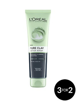 loreal-paris-pure-clay-foam-wash-detox-150ml