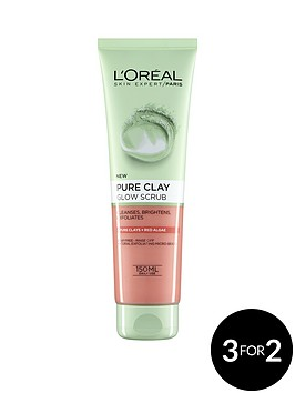 loreal-paris-pure-clay-foam-wash-glow-150ml