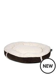 petface-mollie039s-luxury-faux-suede-donut-cat-bed