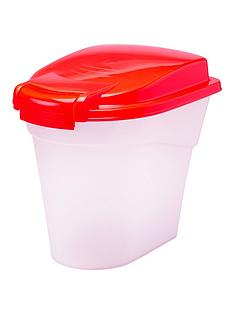 petface-plastic-food-storage-bin-10l-red