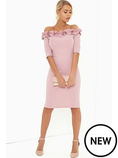 paper-dolls-paper-dolls-rose-ruffle-bodycon-dress