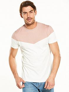 v-by-very-contrast-panel-t-shirt
