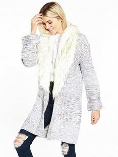 v-by-very-removeable-faux-fur-collar-cardigan