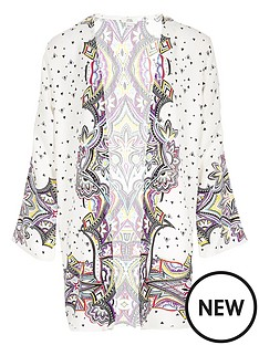 river-island-girls-cream-print-longline-kimono