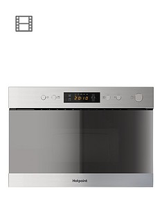hotpoint-class-3-mn314ixh-60cm-built-in-microwave-with-grill-stainless-steel