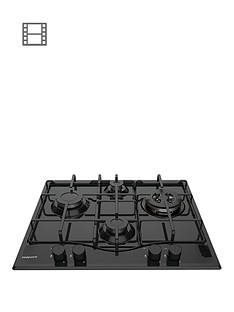 hotpoint-pcn642thbk-60cm-built-in-gas-hobnbsp--black