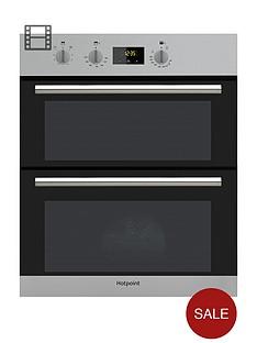 hotpoint-class-2-du2540ix-60cmnbspbuilt-under-double-electric-ovennbspwith-optional-installation-stainless-steel