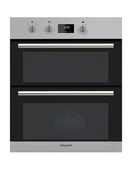 Hotpoint   Class 2 Du2540Ix 60Cm Built-Under Double Electric Oven - Stainless Steel - Oven Only