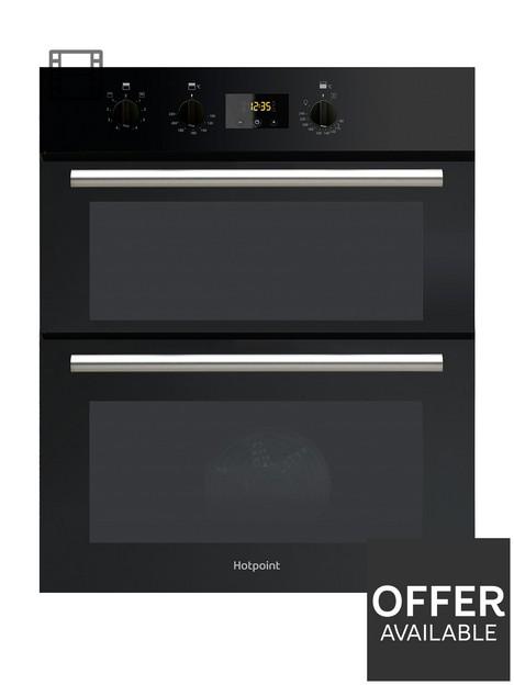 hotpoint-class-2-du2540bl-60cm-electric-built-under-double-oven-black