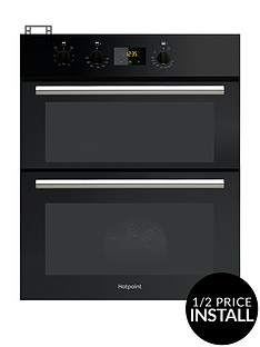 hotpoint-class-2-du2540bl-60cm-electric-built-under-double-ovennbspwith-optional-connection-black