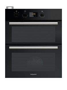 hotpoint-class-2-du2540bl-60cm-electric-built-under-double-ovennbspwith-optional-connection-black