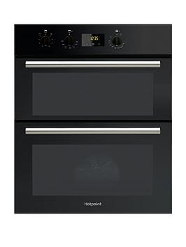 Hotpoint Du2540Bl 60Cm Electric BuiltUnder Double Oven   Oven With Installation