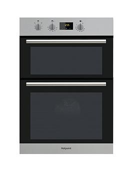 hotpoint-class-2-dd2540ix-60cm-electric-built-in-double-oven-with-optional-installation-stainless-steel