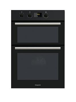 hotpoint-class-2-dd2540bl-60cm-electric-built-in-double-oven-with-optional-installation-black