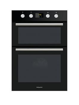 Hotpoint Dd2844Cbl 60Cm BuiltIn Double Electric Oven   Oven Only