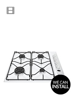 hotpoint-newstyle-pas642hwh-58cm-wide-built-in-gas-hob-with-optional-installation-white