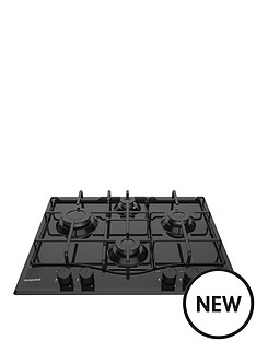hotpoint-pcn642hbk-60cm-wide-built-in-hob-with-optional-installation-black