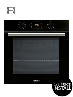 hotpoint-class-2-sa2540hbl-60cm-built-in-single-electric-oven-with-optional-installation-black