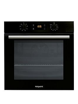 Hotpoint   Class 2 Sa2540Hbl 60Cm Built-In Single Electric Oven - Black - Oven Only