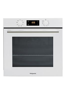 Hotpoint   Class 2 Sa2540Hwh 60Cm Built-In Single Electric Oven - White - Oven Only