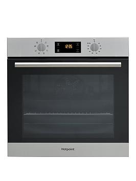 Hotpoint   Class 2 Sa2540Hix 60Cm Built-In Electric Single Oven - Stainless Steel - Oven Only