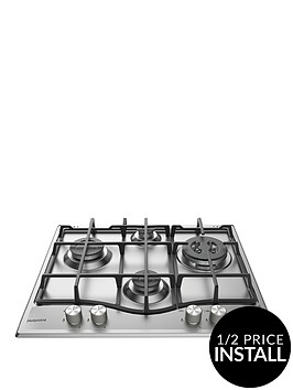 hotpoint-pcn641ixh-60cmnbspwide-built-in-gas-hob-with-fsd-and-optional-installation-stainless-steel