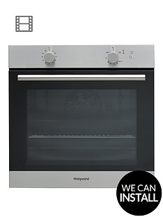 hotpoint-ga2124ix-60cm-built-in-single-gas-oven-with-optional-installation-stainless-steel
