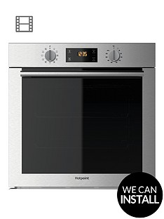 hotpoint-class-4nbspsa4544hix-60cm-built-in-electric-single-oven-with-optional-installation--nbspstainless-steel